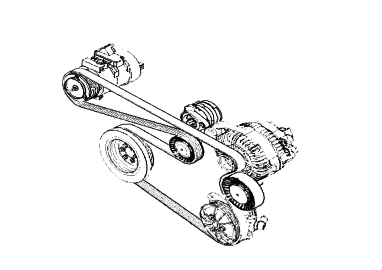 07 bmw 335i belt diagram