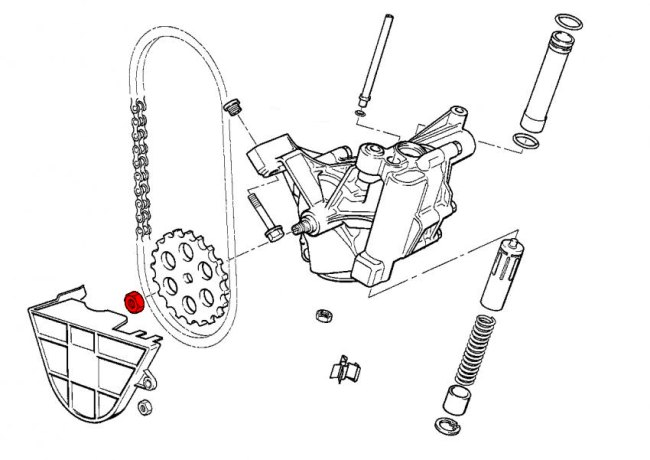 bmw 525i engine diagram oil