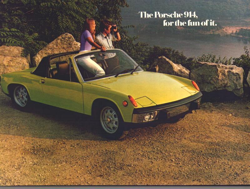 Pelican Parts Vintage 914 Porsche Literature