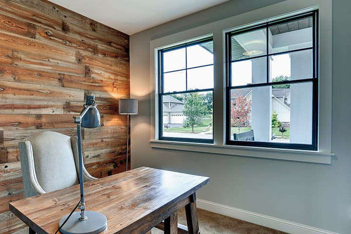 double hung and wood replacement windows