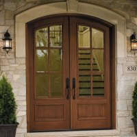 Wood Replacement Entry Doors