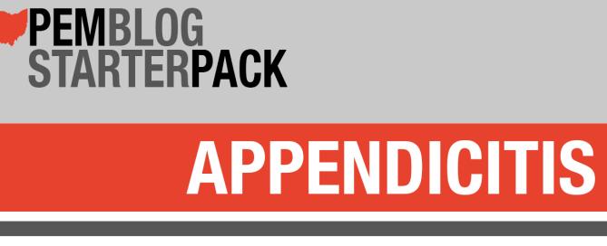 Starter Pack Appendicitis