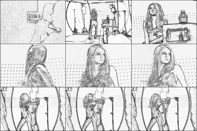 Video Pencil Script - PencilPixels - Scripts for one-click instant - visual storyboards