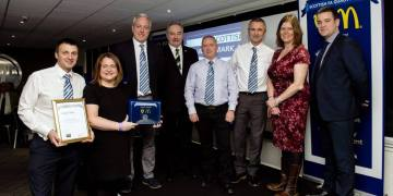 The PAYFC Team receiving the award © Supplied
