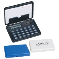 Customized Business Card Holder Calculator | Promotional ...