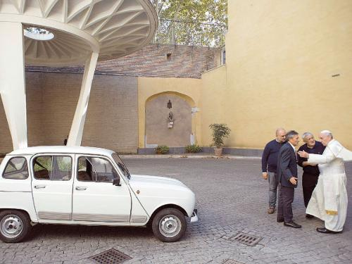 Road fatalities aren't a driving issue in the Holy See. Photo: Reuters