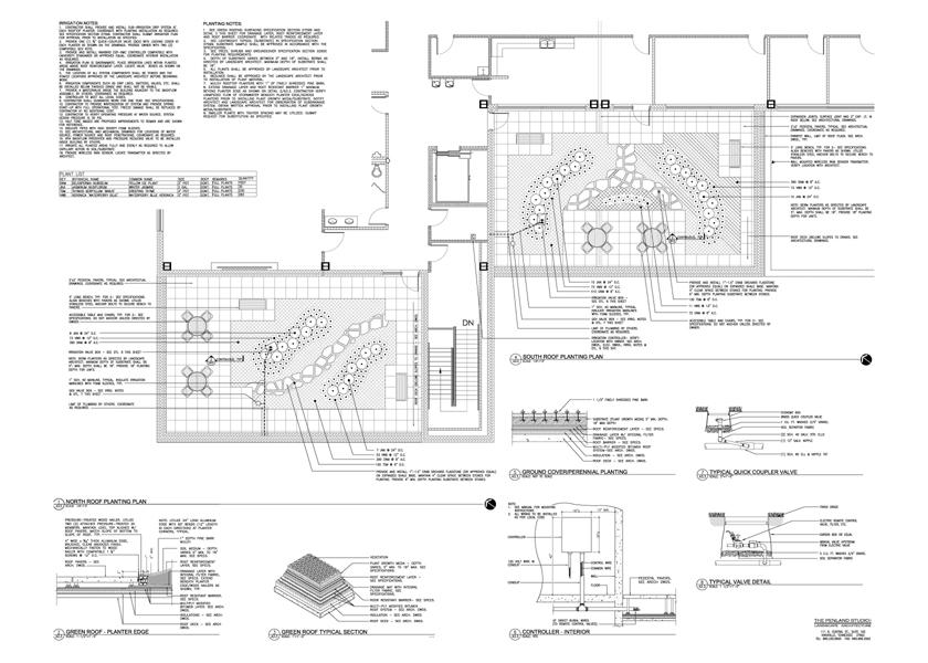 Construction Documents - Landscape Architecture The Penland Studio