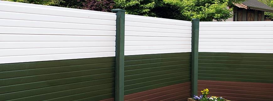 Garden Fencing Pvc Fence Posts Bases Pennine Fencing