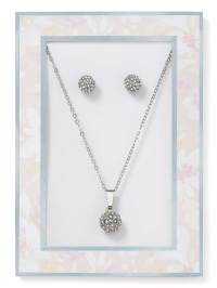 Fireball Necklace and Earring Set | Penningtons