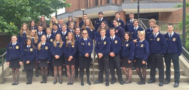 Manor FFA students earn honors at States