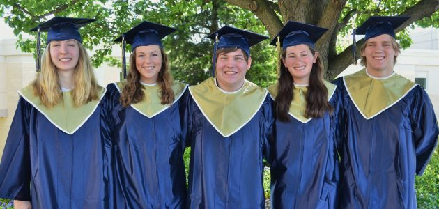 Student speakers named for June 7 commencement