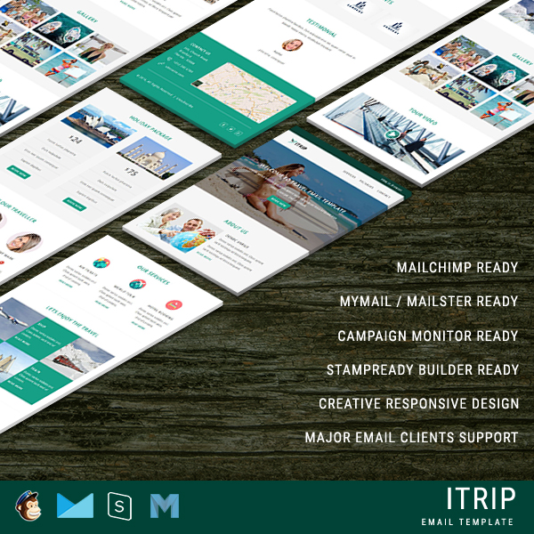 Travel Email Templates Travel Newsletter Template - Pennyblack