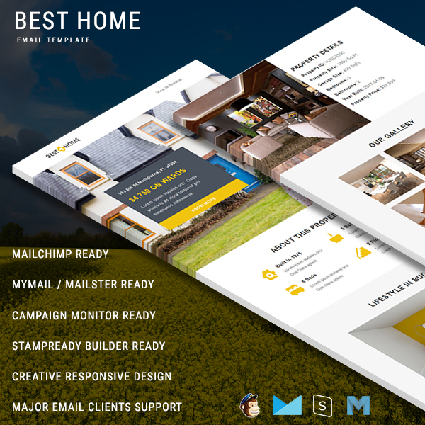 Real Estate Email Templates Real Estate Newsletter Template