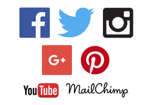 social media marketing, Facebook, Twitter, Instagram, Google Plus, Tumblr