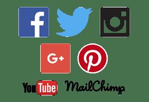 social media marketing, Facebook, Twitter, Instagram, Google Plus, Tumblr