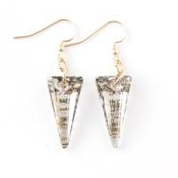 Swarovski Gold Spike Earrings - Penny Love Designs