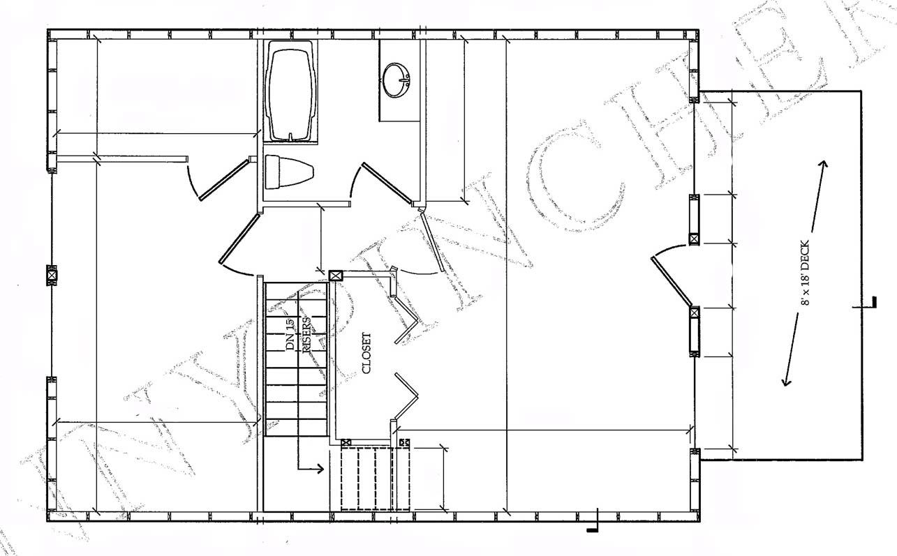 Small Cabin House Floor Plans