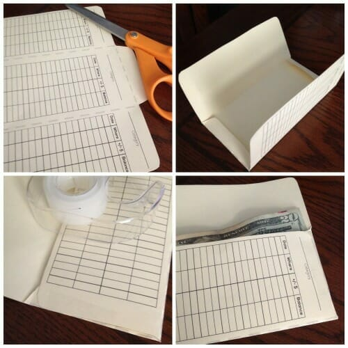 How To Make Your Own Cash Envelopes (Free Template) - sample money envelope template