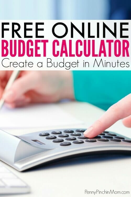 Free Online Budget Calculator for Your Monthly Budget - budget online free
