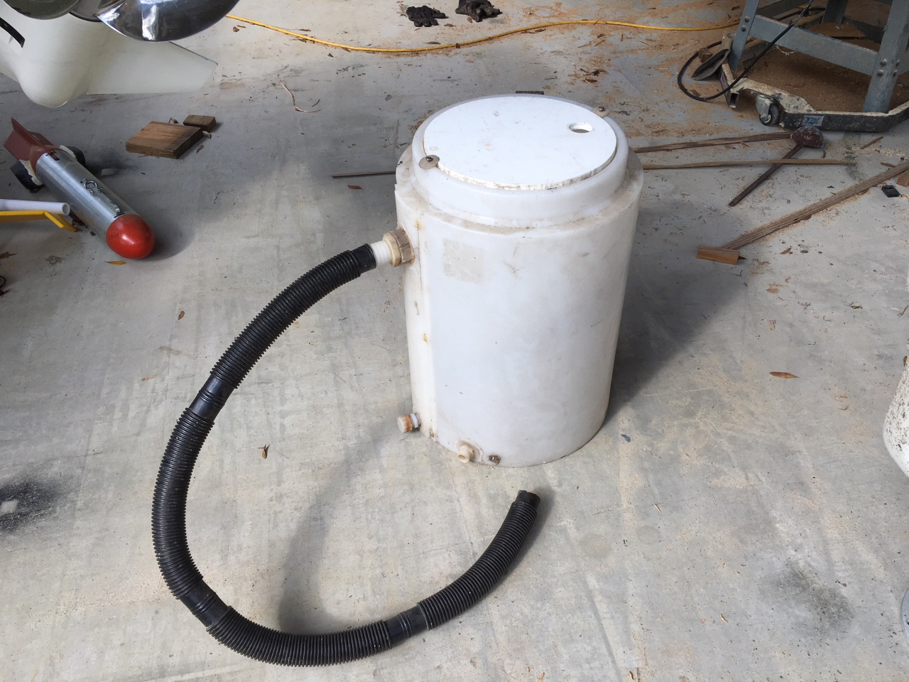Live Well Captains Chair 55 Gallon Todd Fuel Tank