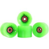 Ridge Skateboard Rollen Cruiser, white, 59 mm, r-blaze-led ...
