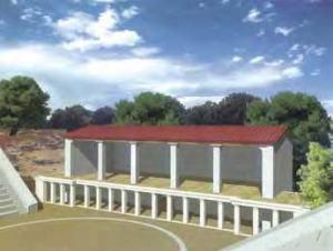 Γραφική αναπαραστάση της οικοδομικής φάσης ΙΙ