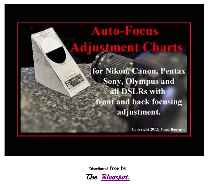 Charts for Auto-Focus Check acknowledged by Pentax - Page 2