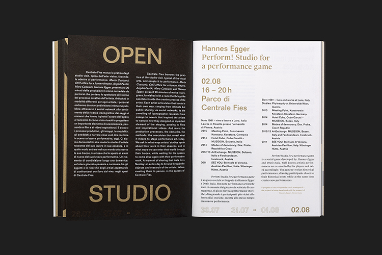 Studio Mut Interview People of Print - studio brochure