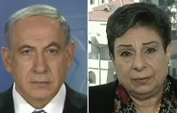Jul. 27, 2014 - 14:10 - Israeli Prime Minister Benjamin Netanyahu and Palestinian leader Hanan Ashrawi weigh in. (Photo: Fox News)