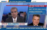 "Rep. Peter King (R-NY) tells Newsmax TV's Steve Malzberg the hot mic incident involving Secretary of State John Kerry on ""FOX News Sunday"" yesterday reflected the ""true feelings"" of the Obama administration."