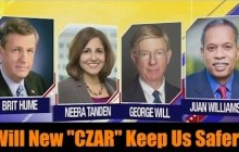 This week on Fox News Sunday, Brit Hume, George Will, Neera Tanden, and Juan Williams joined Chris Wallace to discuss the 2014 Ebola outbreak and midterms.
