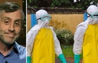 """Dr. David Sanders, an Ebola expert who has been studying the virus since 2003, said on Fox and Friends Wednesday that it was """"primed"""" to go airborne. (Photo: Fox)"""