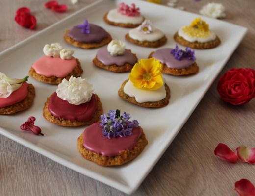 biscotti e fiori edibili 1