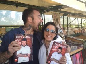 Con chef Rubio