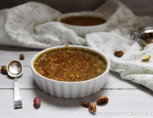 creme brulee al pistacchio