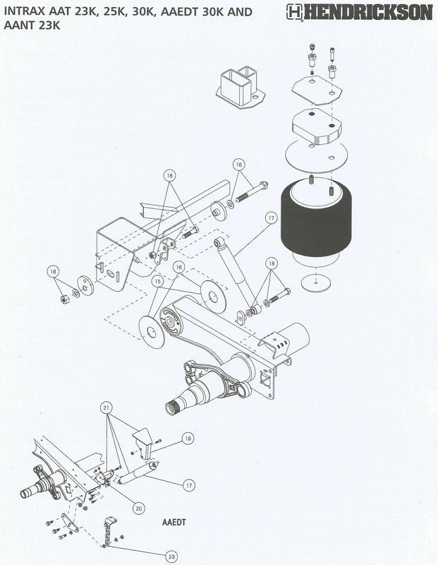 trailer air suspension schematic