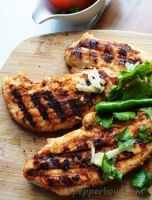 Tandoori Grilled Chicken Breast, a Bachelor's Recipe