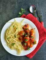 Super Spicy Sriracha Garlic Shrimp