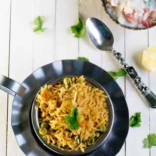 Veg Biryani recipe, simple and easy