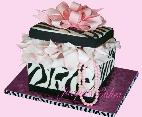 Gift Box Cake Designs Shaped Like A Present