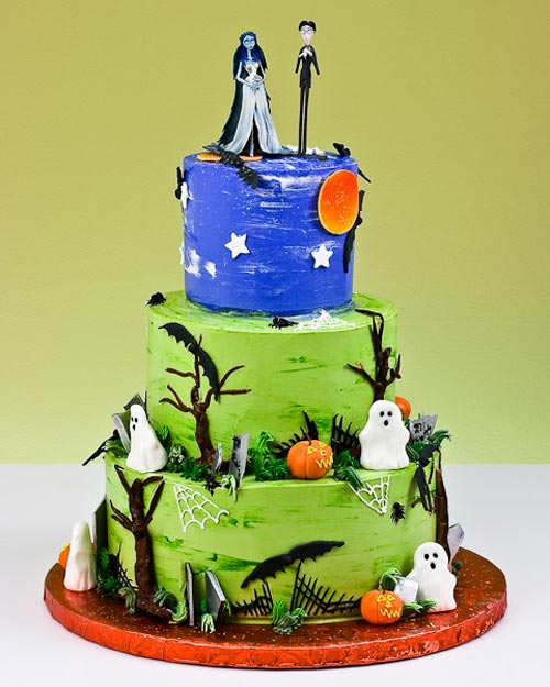 Cake topper customized Rustic country wedding My perfect day - decorating halloween cakes