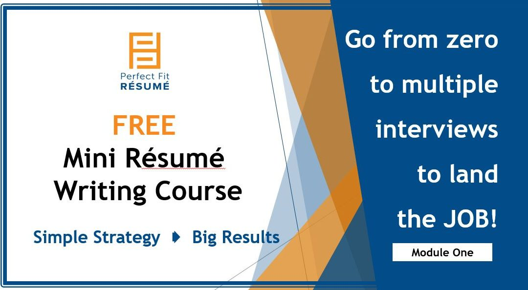 One Simple Resume Writing Strategy That Can Deliver Big Results