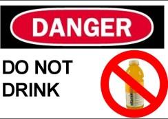 dangers of vitamin water