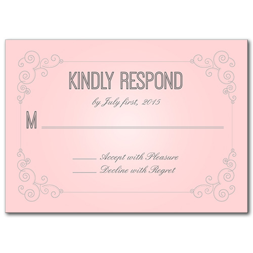 Response Cards, Always and Forever Response Card
