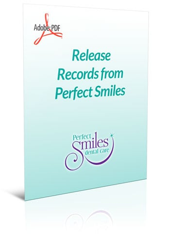 Forms and Your First Visit Perfect Smiles Dental Care Lenexa - dental records release form