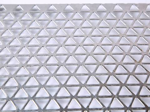 Decorative Perforated Sheet With Brilliant Hole Patterns