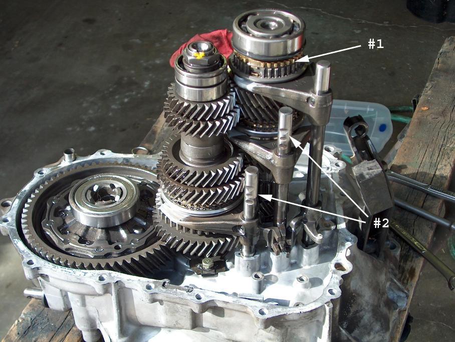 honda manual transmission rebuild
