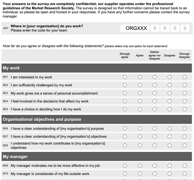 Employee Survey Template madebyrichard