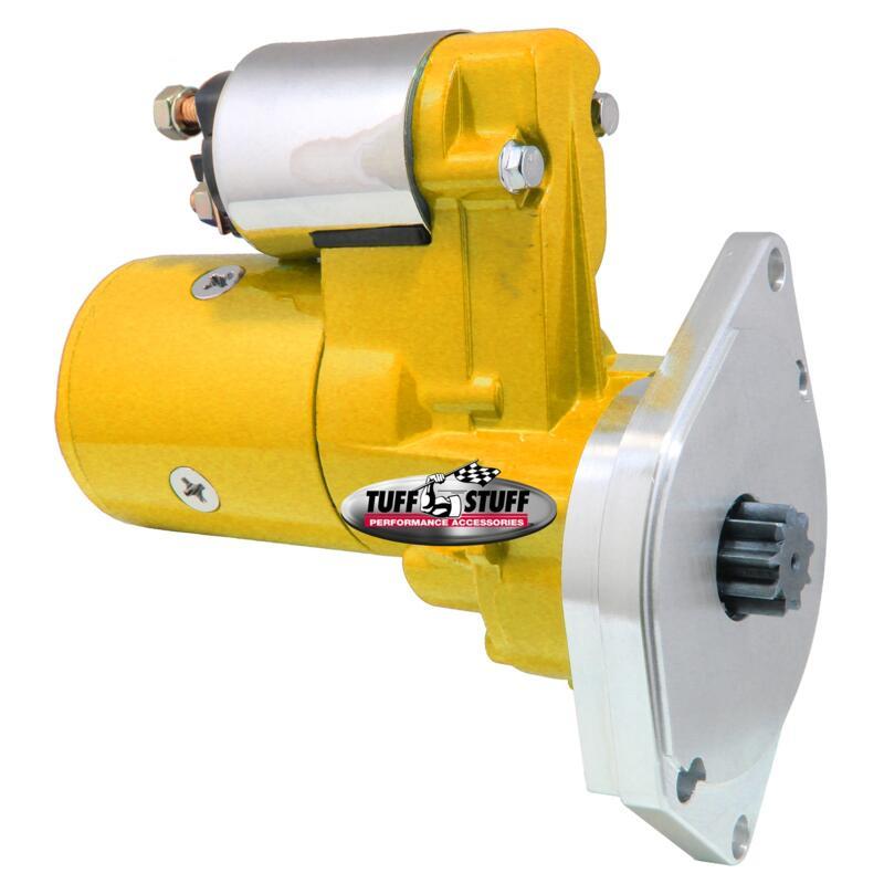 Tuff Stuff Starter 6585BYELLOW; HI-OSGR Yellow 19hp G/R for 63-91
