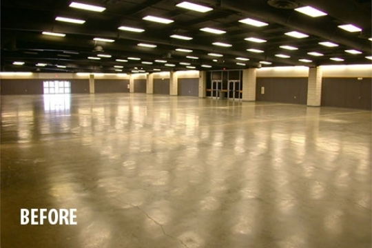 Bell County Expo Center Energy Upgrades Performance Services